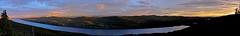 Big Fox Lake Late Night Panorama (MIKOFOX  Show Your EXIF!) Tags: canada fujifilmxt1 yukon june bigfoxlake sunset landscape xt1 panorama mikofox summer xf18135mmf3556rlmoiswr
