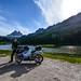 Io e la mia Suzuki GSX-r 600 al Lago di Misurina