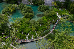 Aerial shot, Plitvice national park (The_mediterranean_traveler) Tags: nationalpark nikon rawimages wanderlust croatia plitvice plitvicenationalpark nikond5300 green trees lakes summer vibrant colourful nature naturalbeauty naturephotography photography mediterranean centraleurope travel travelling discover explore exploring backpacking camping waterfalls