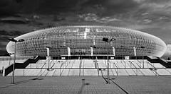 jnowak64 (jnowak64) Tags: poland polska malopolska cracow krakow krakoff arenakrakow architektura lato mik bw