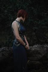 (Marcosari) Tags: blue bluedress mastinlabs model redhead ginger modeling petaluma shorthair shorthairstyle nature sonya7 legacylens manualfocus 50mm14