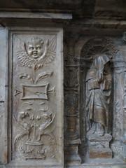 Tombeau du Cardinal Brionnet, detail (kakov) Tags: narbonne narbona languedocroselln siglo century 14th renaissance renacimiento