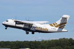 ATR 42-320 Blue Islands G-ZEBS (herpeux_nicolas) Tags: atr 42320 atr4272 blueislands si bci gzebs bci427 cn066 msn066 fwweu atr42320 atr42300 takeoff dcollage training dnr lfrd dinardpleurtuit turbopropulseurs turboprops arospatiale at43