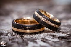 Wedding Rings (dnawork) Tags: wedding rings bride groom braut brutigam trauringe ringe schmucke schmuck hochzeit hochzeitsfotografie marriage carbon gold diamonds