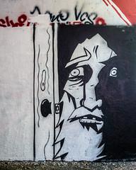 Basik in Highgate (alexmerwin13) Tags: united kingdom art graffiti silhouette artistic gritty london public face england creepy street europe favorite figure civicart design favorites flickr grafiti greatbritain publicart scary spooky streetart tag topshot tumblr unitedkingdom