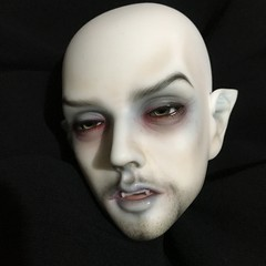 Johnny Daywalker (Ringdoll Dracula Awakening head) (Sadomina) Tags: doll bjd abjd balljointed balljointeddoll ringdoll sadomina dracula vampire faceup