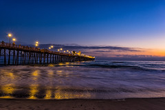 Sunset in Oceanside (MikeRicciPhoto) Tags: sunset sony a7 canon 1740mml oceanside california beach ocean pier mikericciphoto