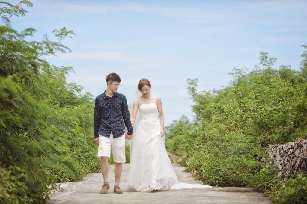 澎湖 七美 自助婚紗 澤于 愛情街角