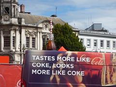 Coca Cola Zero sugar - Victoria Square, Birmingham - van - Tastes more like Coke, looks more like Coke (ell brown) Tags: victoriasquare birmingham westmidlands england unitedkingdom greatbritain cocacola cocacolazerosugar bottle van straw tree trees tastesmorelikecokelooksmorelikecoke 130colmorerow waterloost birminghamuk
