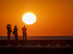 Three women (Riccardo Palazzani - Italy) Tags: jesolo sunrise woman sun three dawn sea pier dock alba mer italy italia italie italien 이탈리아 италия itália italië イタリア italya 意大利 إيطاليا riccardo palazzani veridiano3 olympus omd em1 veneto spiaggia beach shore strand playa пляж praia ビーチ 海灘 شاطئ plage رمل areia sabbia sand sable arena 砂 沙 песок mare море بحر meer рассвет 黎明 aube 夜明け amanecer morgendämmerung amanhecer فجر donne tre