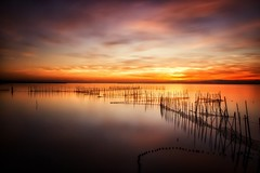 To the end (Anto Camacho) Tags: valencia landscape lake albufera longexposure sunset comunidadvalenciana bigstopper reflections caas seascape down