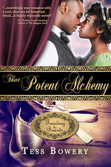 That Potent Alchemy (Treading the Boards #3) Is his love her safe place to landor just smoke and mirrors? Grace Owens danced her feet bloody to become the finest en pointe prodigy of her generation, but the only accolade she longed forher fathers appro (medievalpoc) Tags: books historical fiction medievalpoc tess bowery that potent alchemy romance