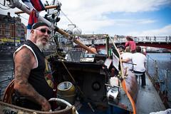 boatman (pamelaadam) Tags: whitby engerlandshire people lurkation boat sea august summer 2016 holiday2016 digital fotolog thebiggestgroup