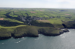 Boscastle on the north coast of Cornwall - arial image (John D F) Tags: boscastle cornwall coast aerial aerialphotography aerialimage aerialphotograph aerialimagesuk aerialview cornish