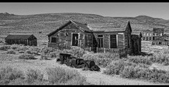ghost town view (LOCK-ness monster) Tags: ghosttown californiahistory foukehouseatbodie oldwest hdr hss