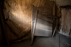 Headboard (atenpo) Tags: bodie us 395 highway ghost town gold rush mining state historic park ca california arrested decay artifacts eastern sierra lee vining bridgeport foundation high desert auebodie2016 headboard bed frame