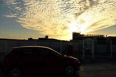 (yama_d) Tags: cloud   sky  sunset vw  polo    silhouette shadow