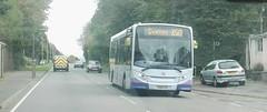 Service X50 (Woolfie Hills) Tags: first cymru yx64 vpl enviro godre graig x50