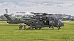 Royal Navy Agusta Westland Merlin HC3 ZJ135 (benji1867) Tags: royal navy agusta westland merlin hc3 zj135 vl yeovilton airshow airday air show day 2016 marines naval service hms seahawk fly flight avgeek avporn aviation chopper helicopter helo
