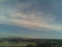 Sydney 2016 Oct 21 09:03 (ccrc_weather) Tags: ccrcweather weatherstation aws unsw kensington sydney australia automatic outdoor sky 2016 oct morning