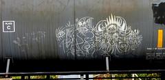 saved - hbak (timetomakethepasta) Tags: saved hbak freight train graffiti moniker art tanker having blast