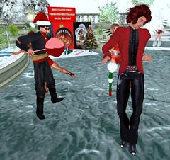 Borba and Anubis at the weekly Tuesday party at Two Moon Gardens (Two Moon Gardens (Avi Choice Award Winners 2015)) Tags: christmas winter wedding party music plant flower tree ice nature water grass river garden waterfall dance bush landscaping stage skating contest elle marriage competition romance sl event wintergarden christmasparty secondlife virtualreality skate shrub venue ll ferndale weddingvenue gardencentre livedj gardencenter lindenlab musicvenue partyvenue virtualworld eventvenue coupledance virtualenvironment christmasgarden elleese majesticfalls gardenvenue christmasvenue marriagevenue dancevenue djgreywolf romanticvenue twomoongardens bunniebadger djdieter dieterscorpio gardeninsecondlife instantlandscaping instantvenue wintervenue majesticfallsinwinter