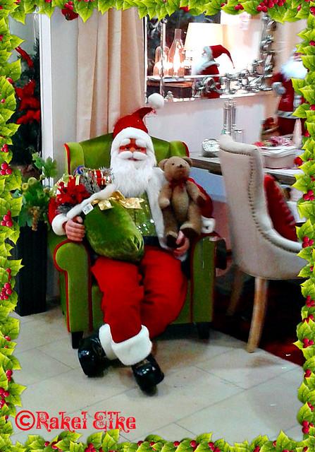 Papá Noël en Murcia