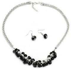 5th Avenue Black Necklace K4 P2140-4