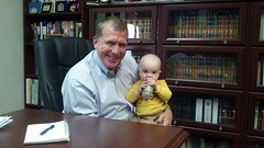 Some meetings I have are better than others on a Monday morning .My meeting this morning included my grandson Oliver. Can't beat it !!!!!