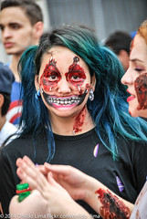 Zombie Walk 2014 Sao Paulo (Onildo_Lima _) Tags: brazil people yellow brasil dead blood pessoas nikon downtown lima zombie walk fear centro terror paulo sao caminhada morto sangue zumbi praca medo patriarca 2014 d60 mortos onildo