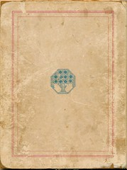 Kleurig en Fleurig Ella Riemersma 1923 cover. achter (janwillemsen) Tags: bookcover ellariemersmabookillustration1923