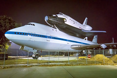 Space Shuttle Independence & Shuttle Carrier Aircraft 747
