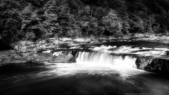 Ohiopyle Falls (mhoffman1) Tags: statepark park longexposure blackandwhite monochrome waterfall unitedstates pennsylvania ohiopyle laurelhighlands sonyalpha a7r silverefexpro