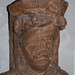 Carving of a face