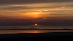 IMG_4763 (Leif Hinrichsen) Tags: sunset summer beach strand denmark island sonnenuntergang sommer insel northsea dänemark danmark nordsee abendhimmel sandstrand rømø röm nordseeinsel