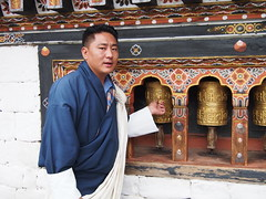 Spinning the prayer wheels!