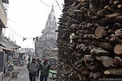Next stop: Nirvana (SERMUNDO) Tags: wood india market faith varanasi hinduism firewood hindi cremation hinduismo cremacion