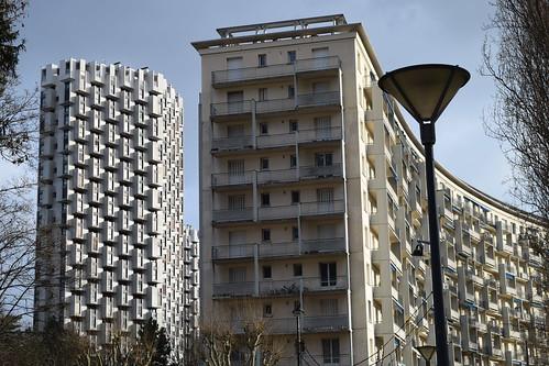 Les trois tours de Grenoble