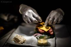 Cooking/portioning (johan.bergenstrahle) Tags: food mat maj sundsvall 2014 scandic