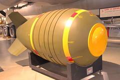 Mark VI Nuclear Bomb (robtm2010) Tags: ohio usa museum canon war military bomb usaf dayton usairforce nuclearbomb t3i markvi nationalmuseumoftheunitedstatesairforce ordanance