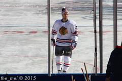 Niklas Hjalmarsson (the_mel) Tags: hockey nhl washingtondc dc outdoor blackhawks capitals washingtoncapitals chicagoblackhawks winterclassic nationalspark niklashjalmarsson
