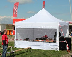 Quick Folding Tent met panorama zijwand