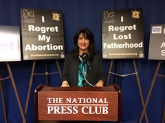 Press Conference 1.8.15 announcing new Healing the Shockwaves of Abortion initiative co-sponsored by Anglicans for Life.