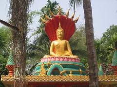 Sitting Buddha in Vientiane