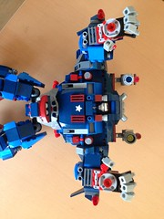 Iron Patriot Hulkbuster Mk1 (lee_a_t) Tags: robot war iron lego ironman suit superhero patriot superheroes hulk marvel mecha avengers tonystark mech thehulk warmachine hulkbuster jamesrhodes starkindustries ironpatriot legowarmachine legohulkbuster machineiron patriotmarvel patriotlego avengerswar machinewarmachinelego bustermarvel hulkbustermarvel busterlegomarvelironmanavengersmarvel avengerscomicsthe