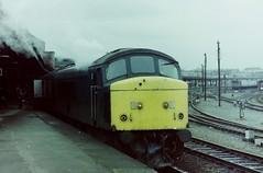 45 Steaming (DBS 60100) Tags: york 45 britishrail class45 steamheating