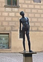 """"""" Goldfinger """" (""""Besenbinder"""") Tags: prag praha prague besenbinder statue sculpture skulptur art arte kunst kunstwerk arminskowalski"""