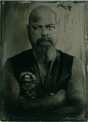 -some problems- (Jürgen Hegner) Tags: portrait blackandwhite bw analog ambrotype wetplate clearglass collodion schwarzweis 13x18 fkd 13x18cm kollodium ambrotypie jürgenhegner fkd13x18camera leitzepis32