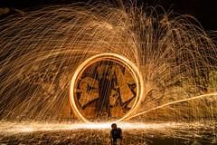 Tunel steel wool metaphoto (noctuafoto) Tags: longexposure night noche tunel steelwool largaexposición lanadeacero