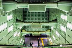 U-Bahn Station Rathaus / Farbig
